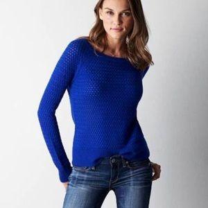 American Eagle Waffle-knit Sweater